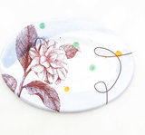 Plate small oval
